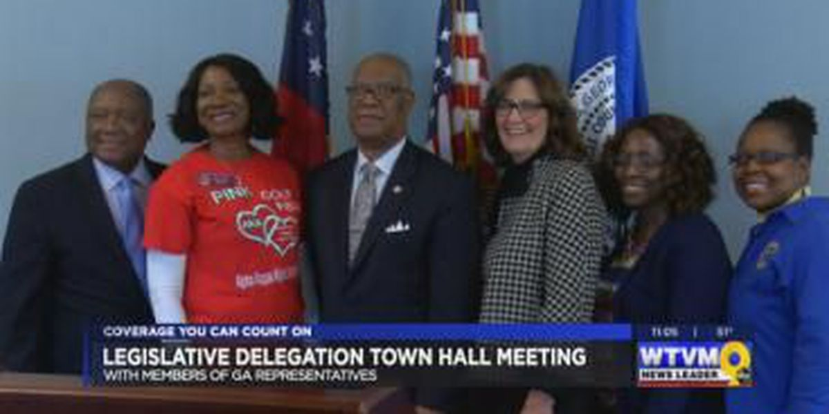 Legislation delegation town hall meeting held in Columbus