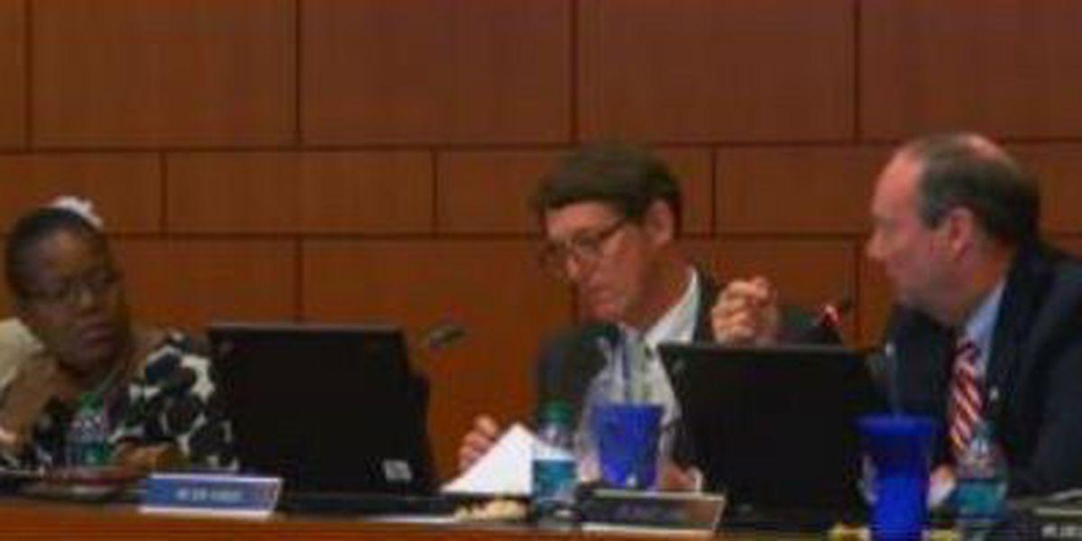 Muscogee County School Board meeting gets heated