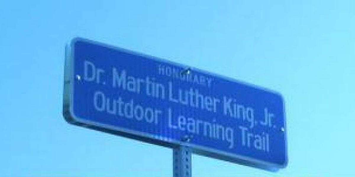 MLK outdoor learning trail unveiled