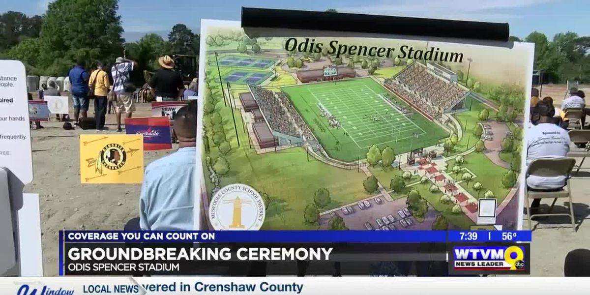 Ground broken at Odis Spencer Stadium