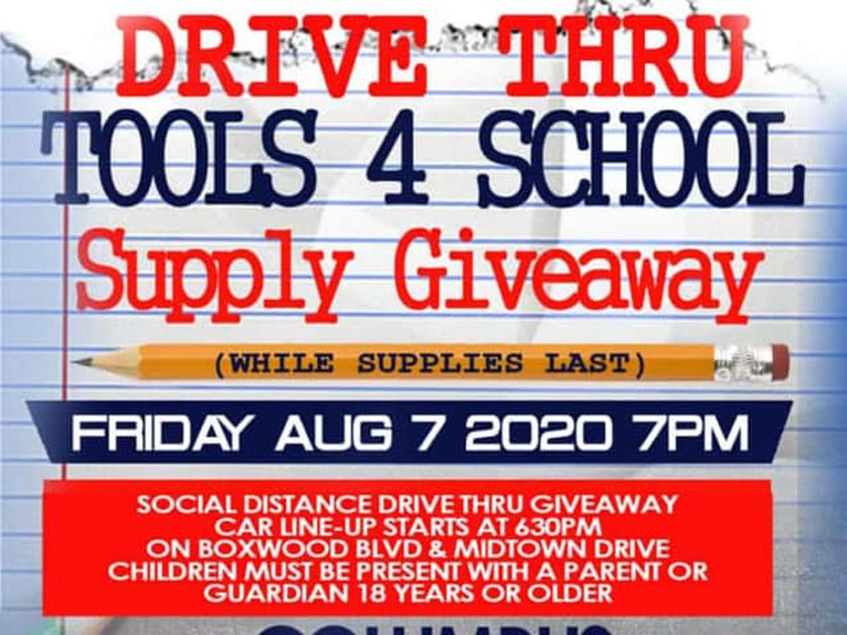 GUEST SEGMENT: Davis Broadcasting gearing up for Tools 4 School supply giveaway in Columbus