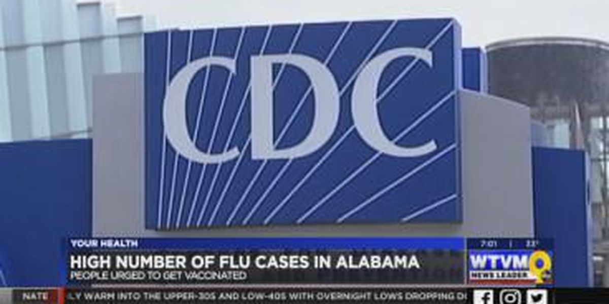 Alabamians urged to get vaccinated as number of flu cases rise