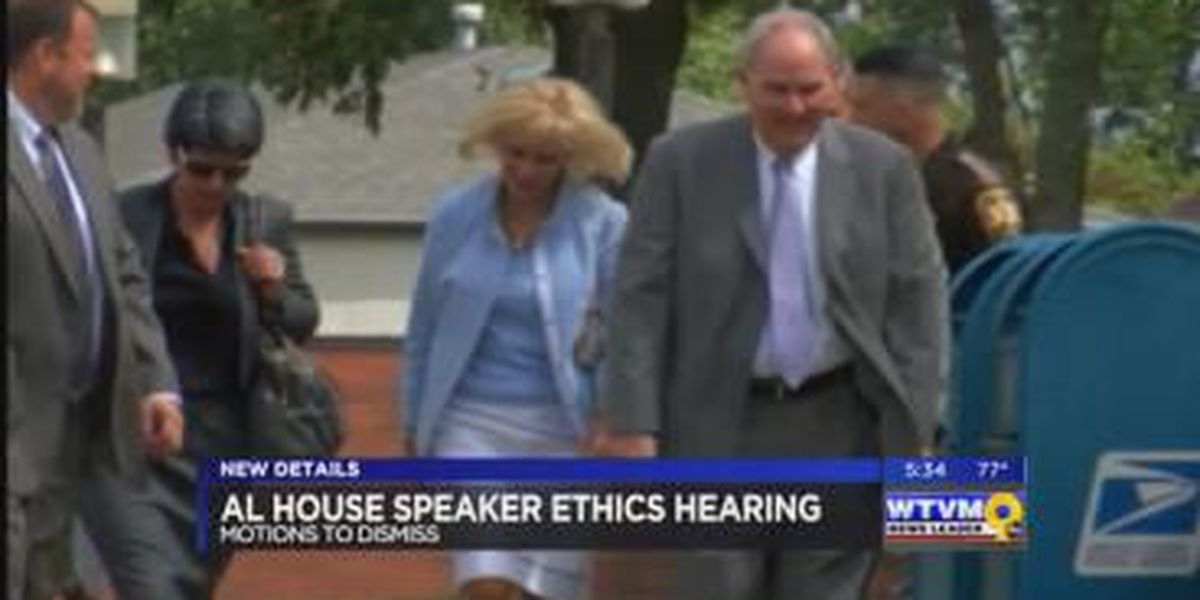 AL Speaker of the House works to get 23 felony ethics charges dismissed