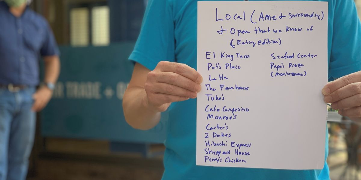 2 men create website to support local Americus eateries during pandemic
