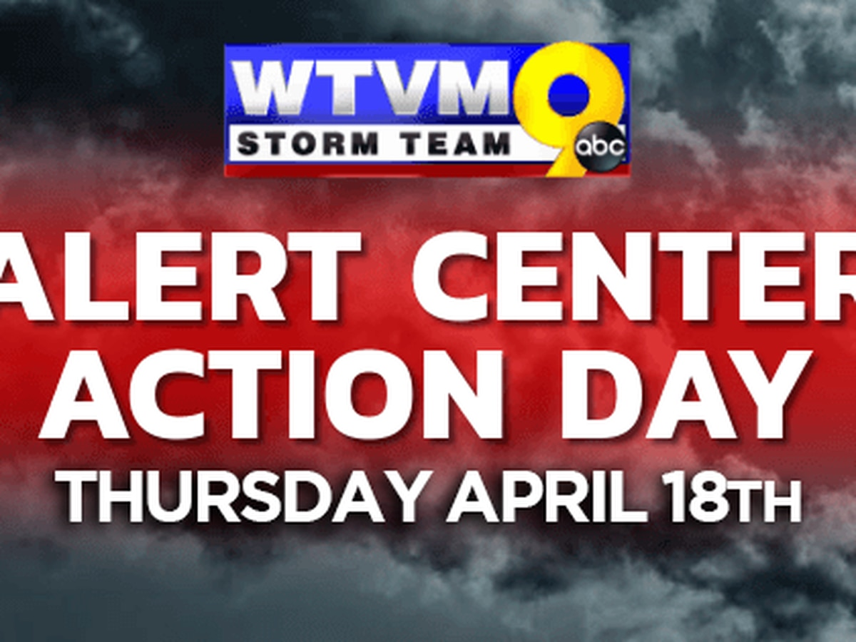 ALERT CENTER ACTION DAY: Severe weather threat overnight Thursday, early Friday
