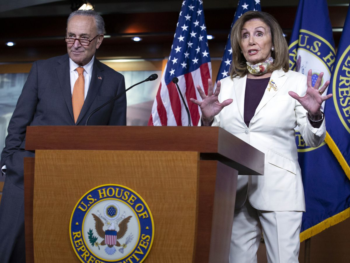 In virus talks, Pelosi holds firm; Mnuchin wants a deal