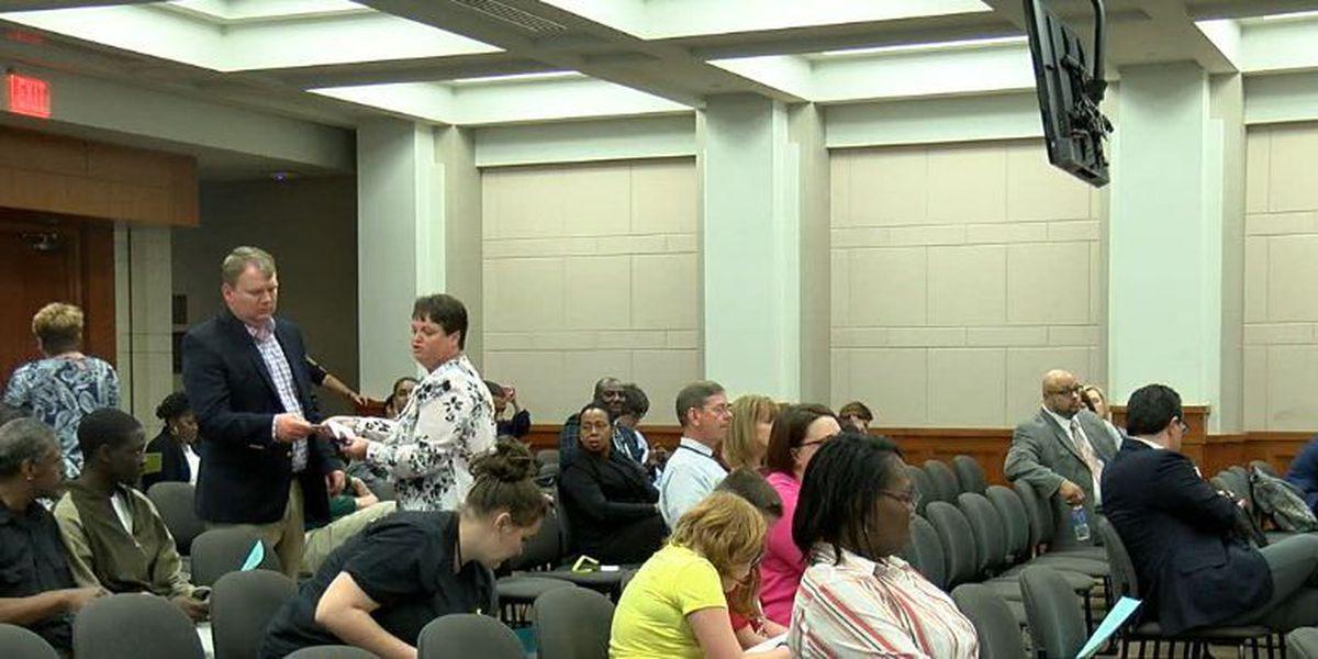 Community voices concerns over Camelot Education proposal