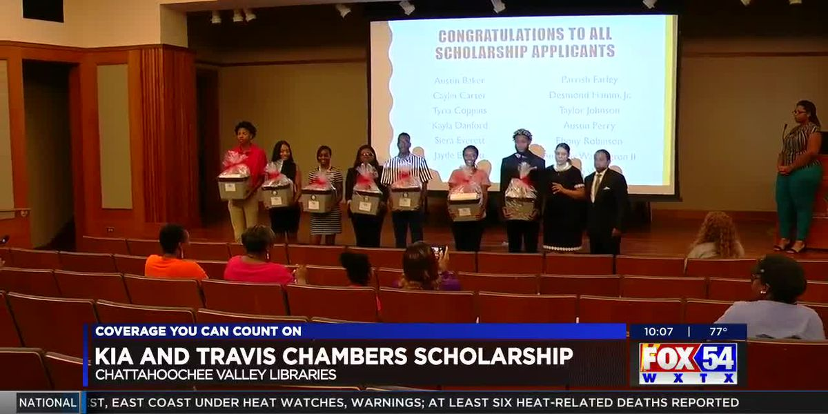 MCSD Board member awards scholarships to local teens