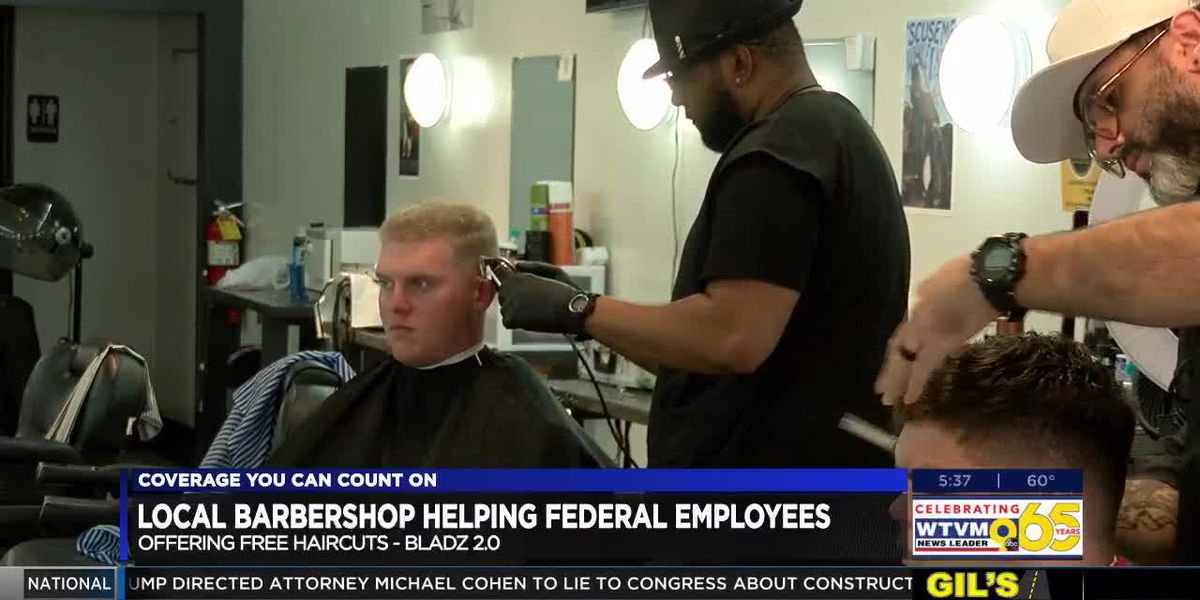 Barbershop in Columbus offering free haircuts to employees impacted by government shutdown