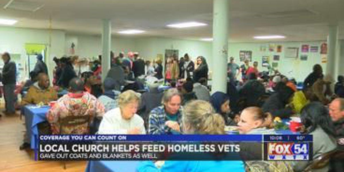 Columbus church sponsors Christmas dinner for the homeless