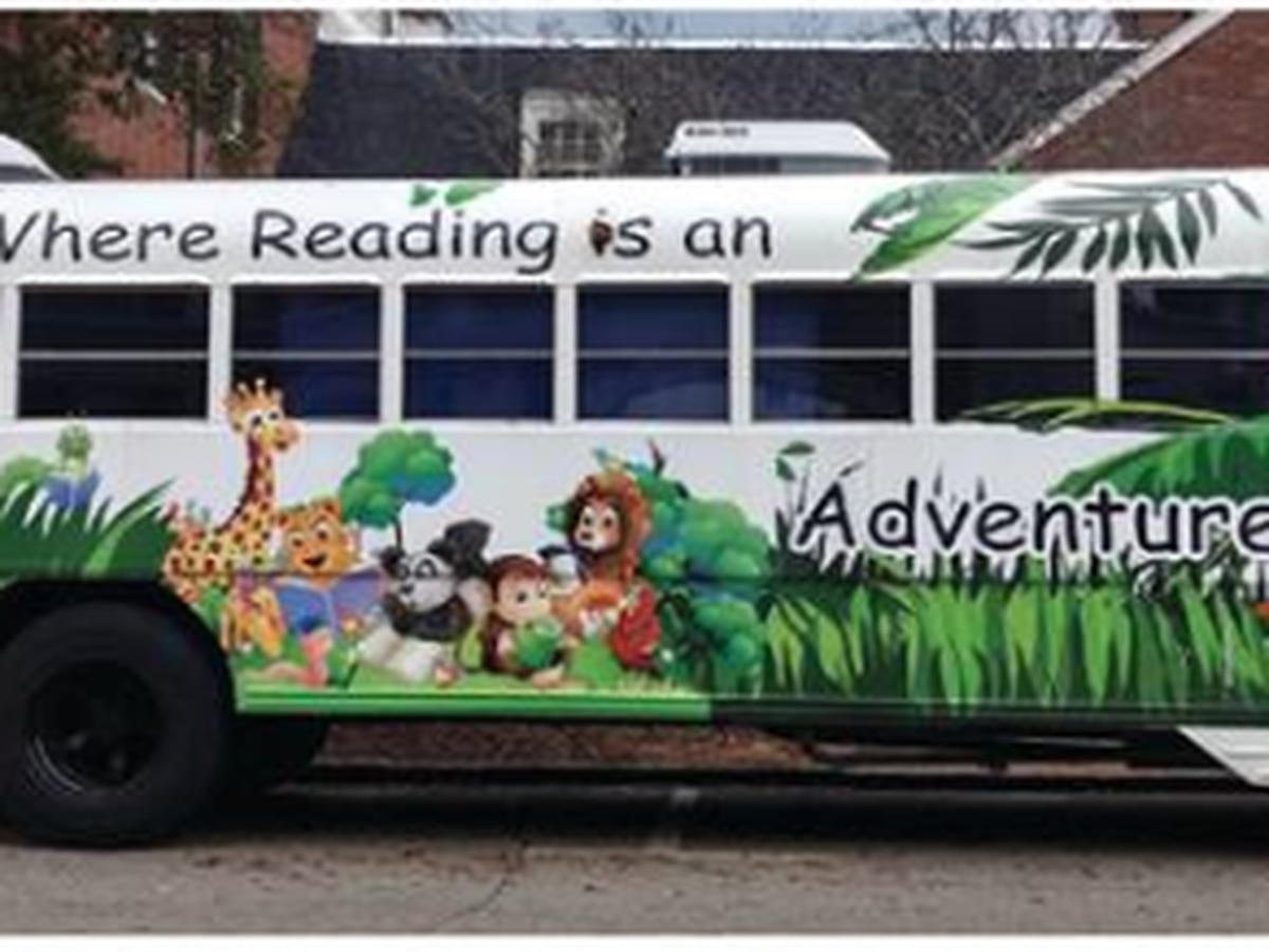 LaGrange Jungle Bus Book Drive underway