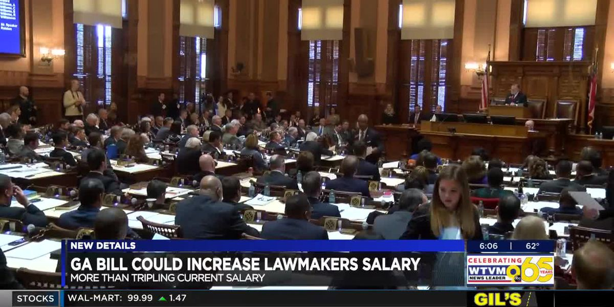 Senate Bill 81 to increase state legislators pay