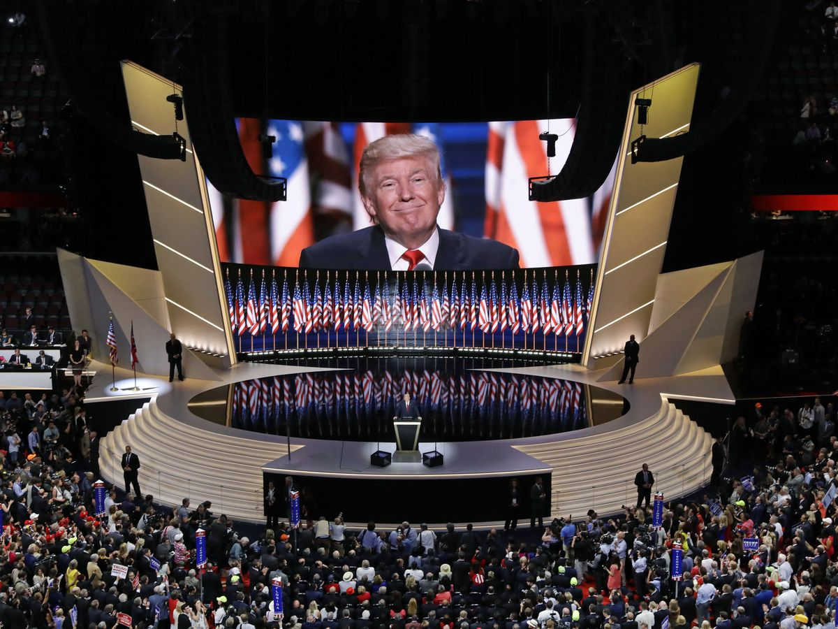 It's Trump's call on what the GOP convention will look like