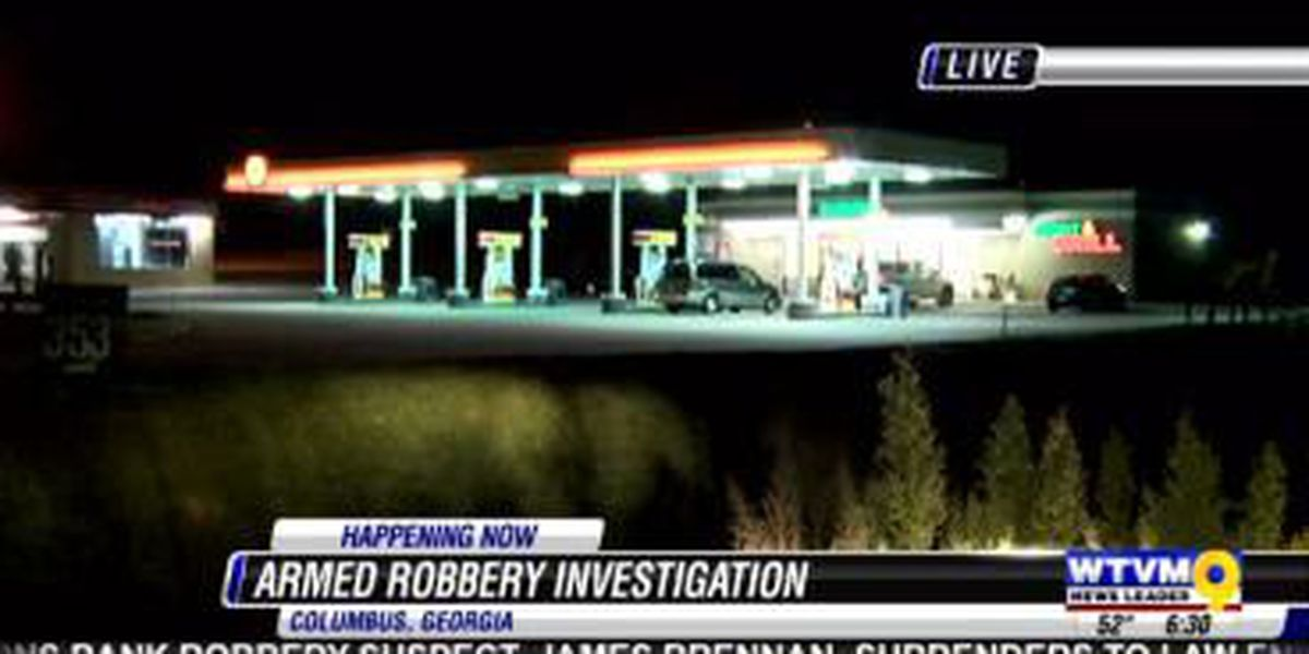 Cashier assaulted in Veterans Pkwy. gas station robbery