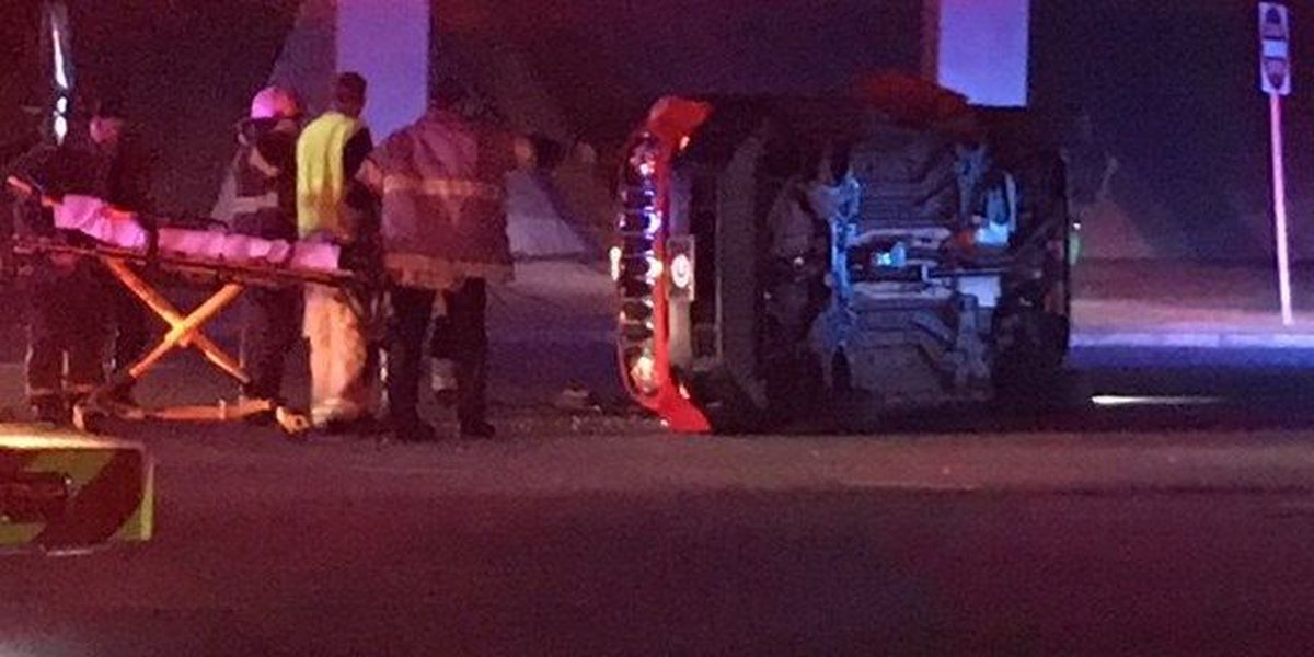 Traffic diverted following multi-vehicle accident on Macon Rd. under I-185 bridge