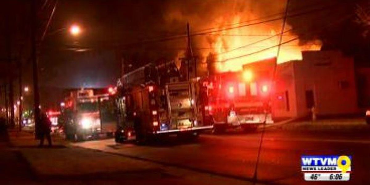 Dept. of Alcohol, Tobacco & Firearms investigating church fire