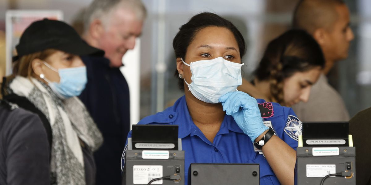 At least 6 TSA workers test positive for virus
