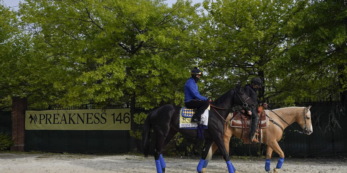 Medina Spirit cleared to run, Preakness back to semi-normal