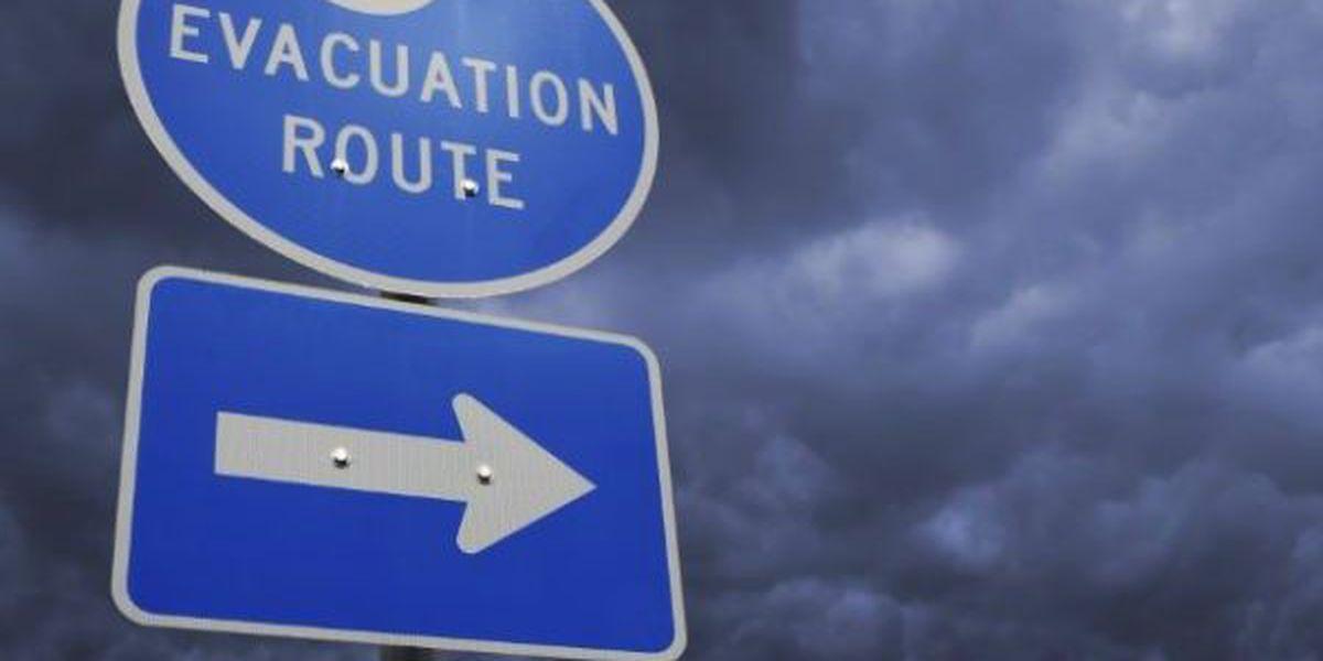 Alabama beaches closed, coastal evacuation recommended
