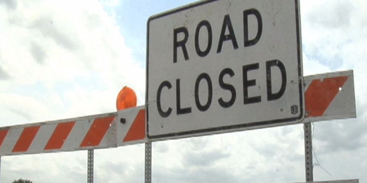 Lanes to close in Auburn for construction work