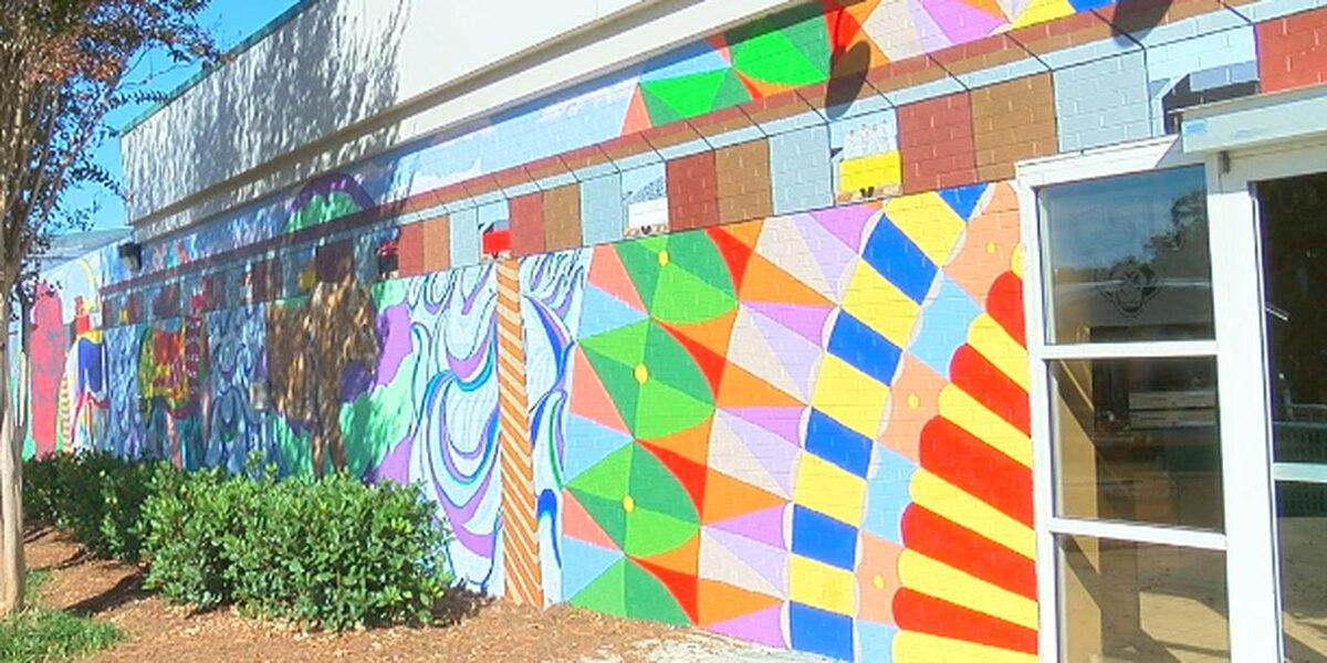 New CSU mural shines light on Columbus landmarks