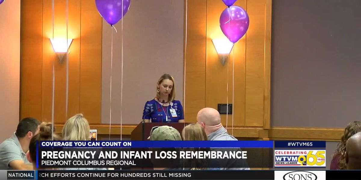 Piedmont Columbus Regional hosts day of remembrance to honor pregnancy, infant loss