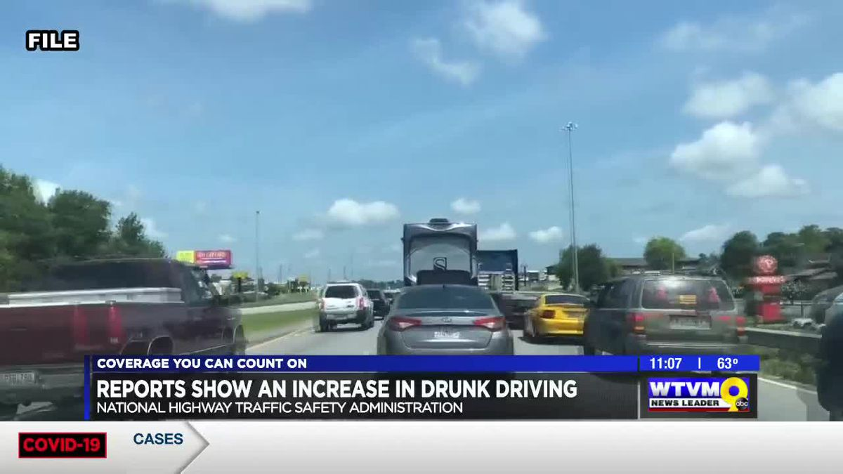 Reports show increase in drunk driving during Thanksgiving holiday