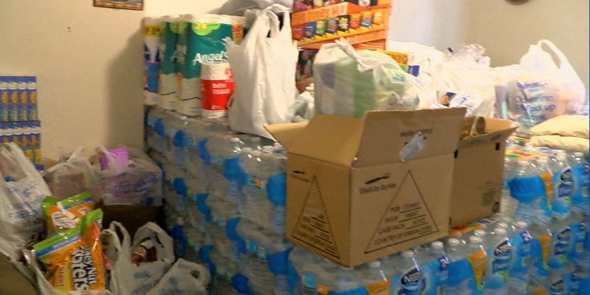 Columbus man works to help southwest Georgia storm victims
