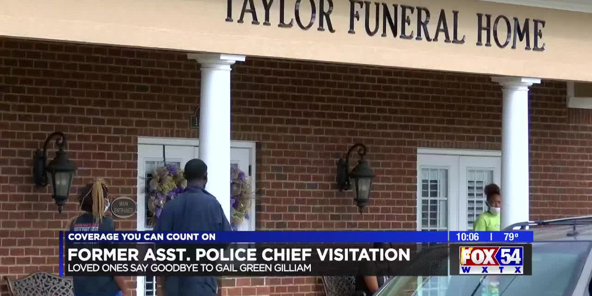 Loved ones say goodbye to Phenix City assistant police chief at public visitation