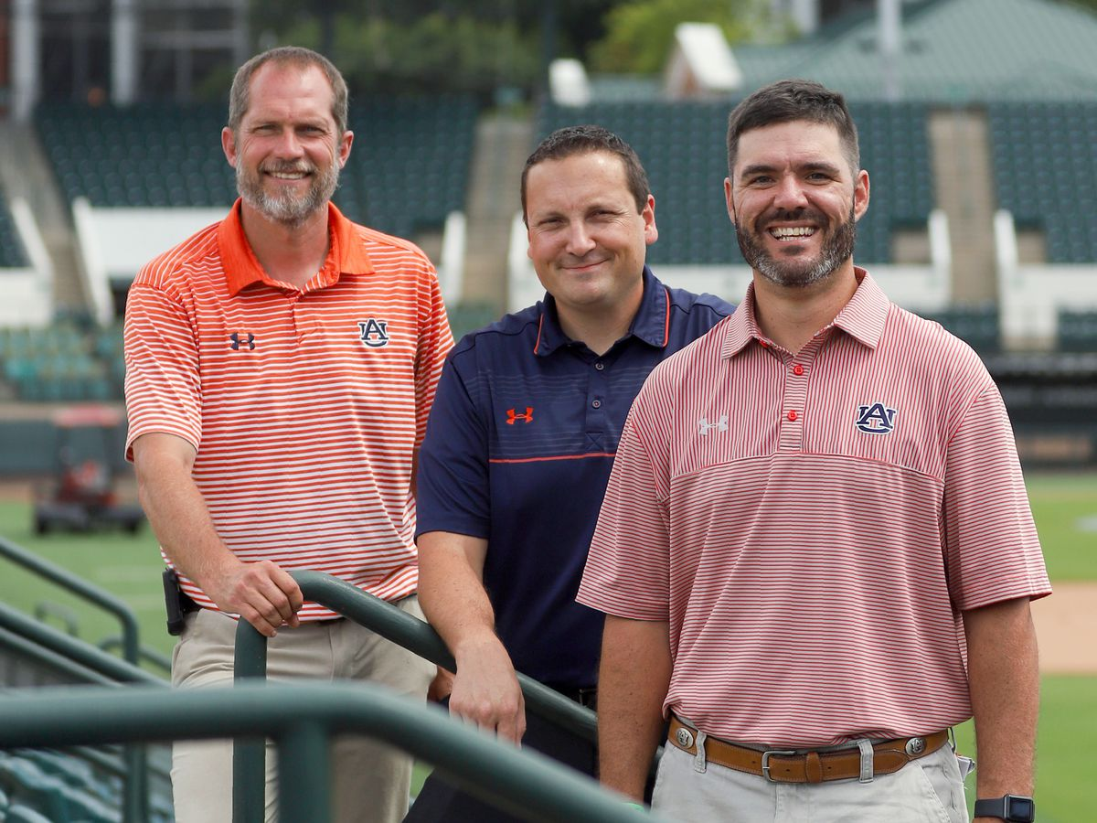 Auburn University athletic field crew saves life of unresponsive grounds keeper