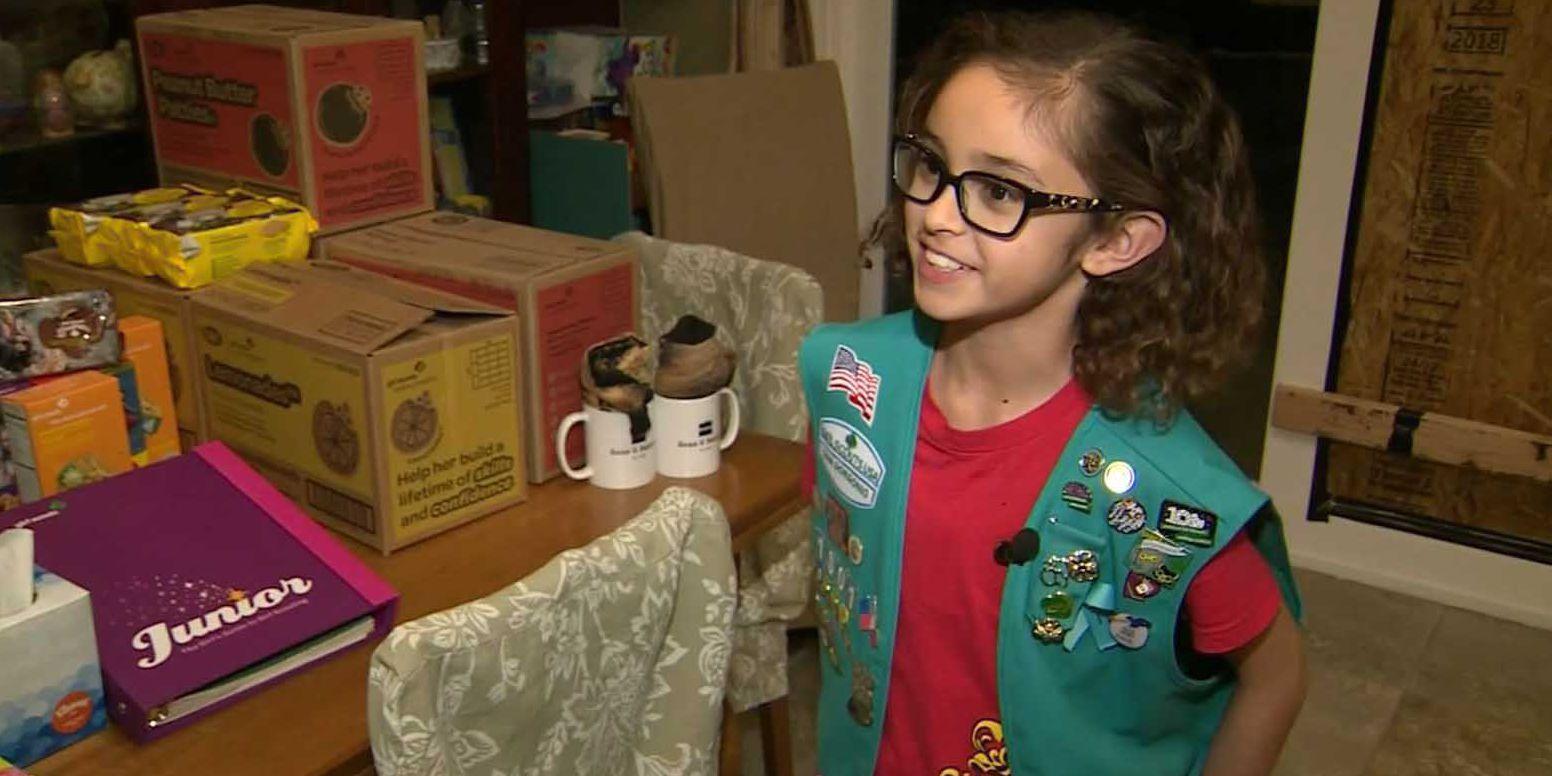 Burglar steals Girl Scout's $700, her mother's wedding ring, and eats her cookies