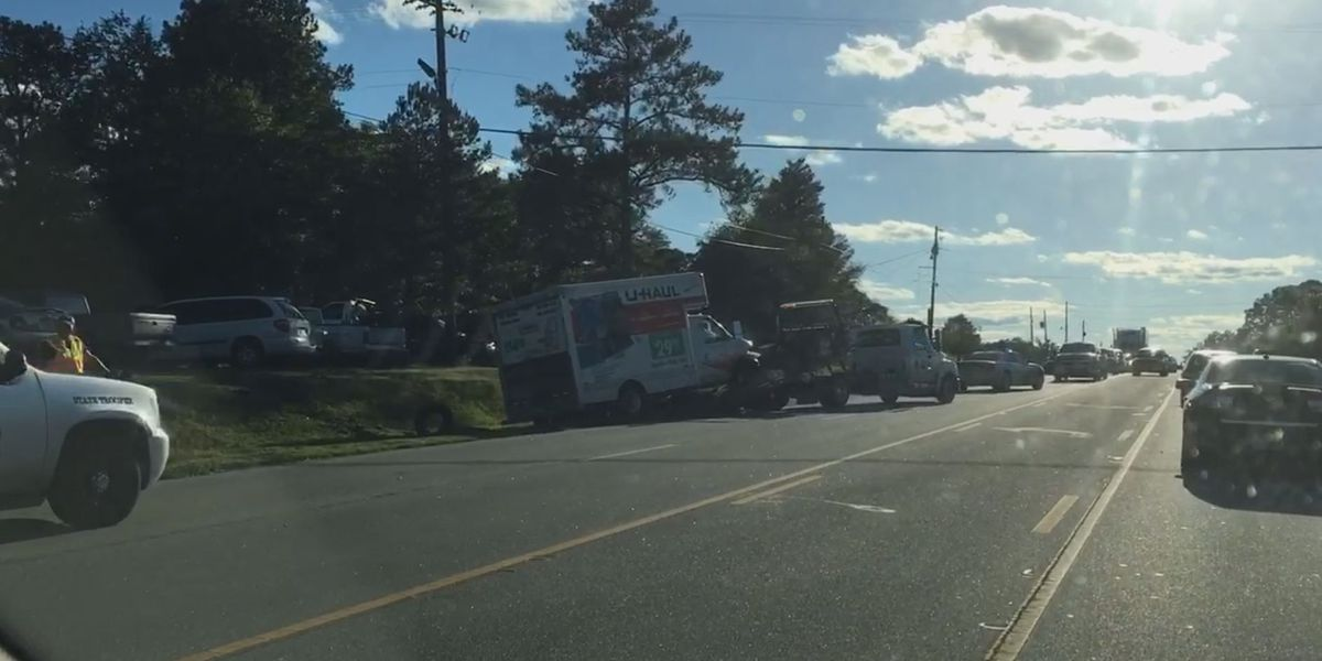 TRAFFIC ALERT: Two-car accident on Hwy. 80 in Ladonia