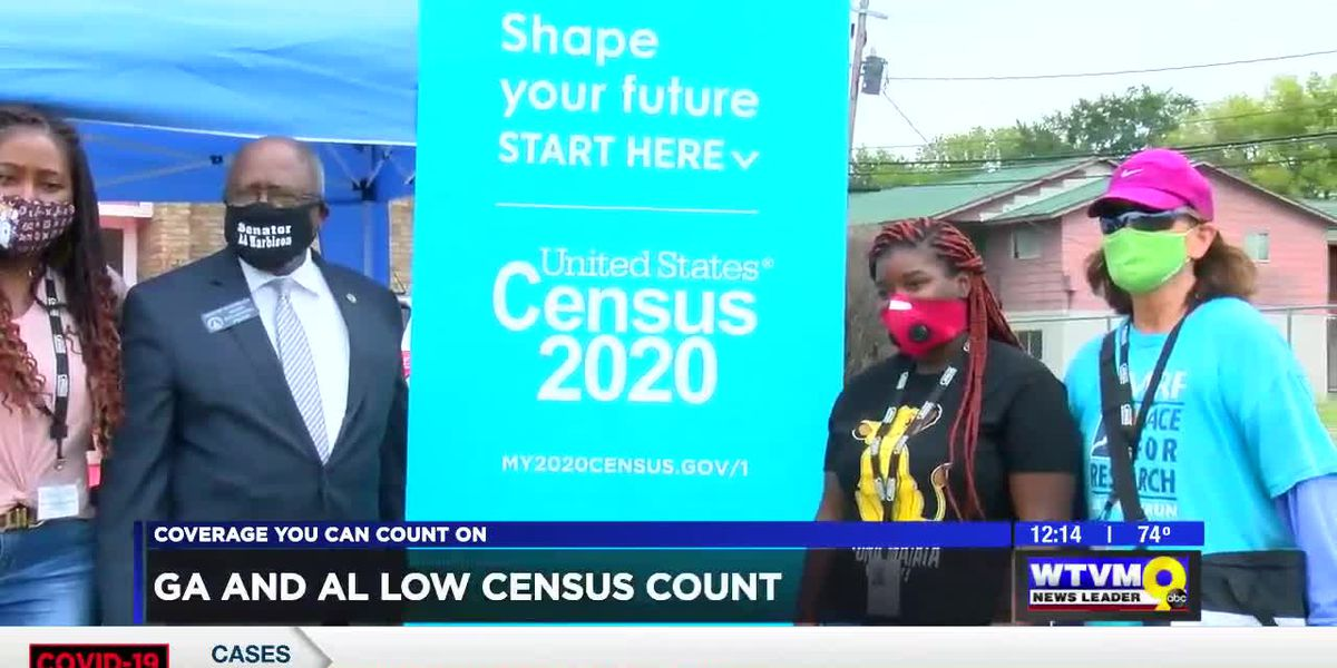 Georgia, Alabama bringing up the rear in rankings of census completion