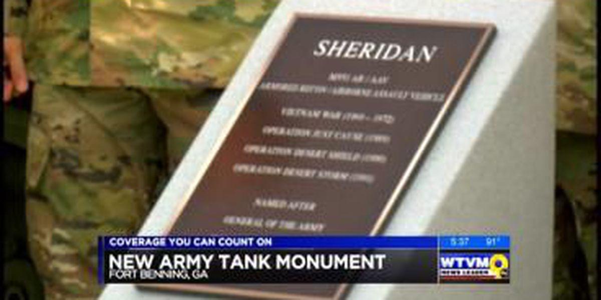 Fort Benning celebrates Sheridan Tank monument dedication