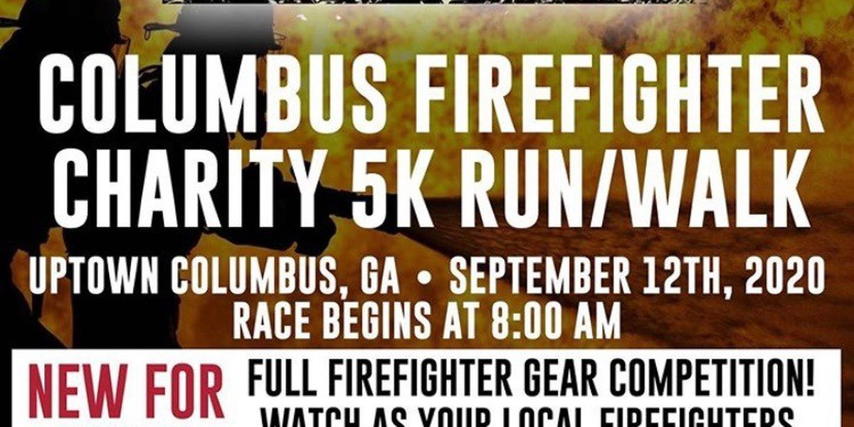 Support local charities by participating in annual Columbus Firefighter charity 5K