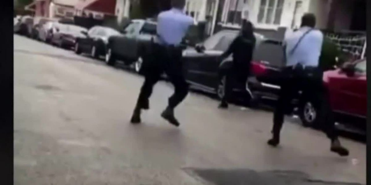 GRAPHIC: Protests follow deadly shooting of man holding knife in Philadelphia