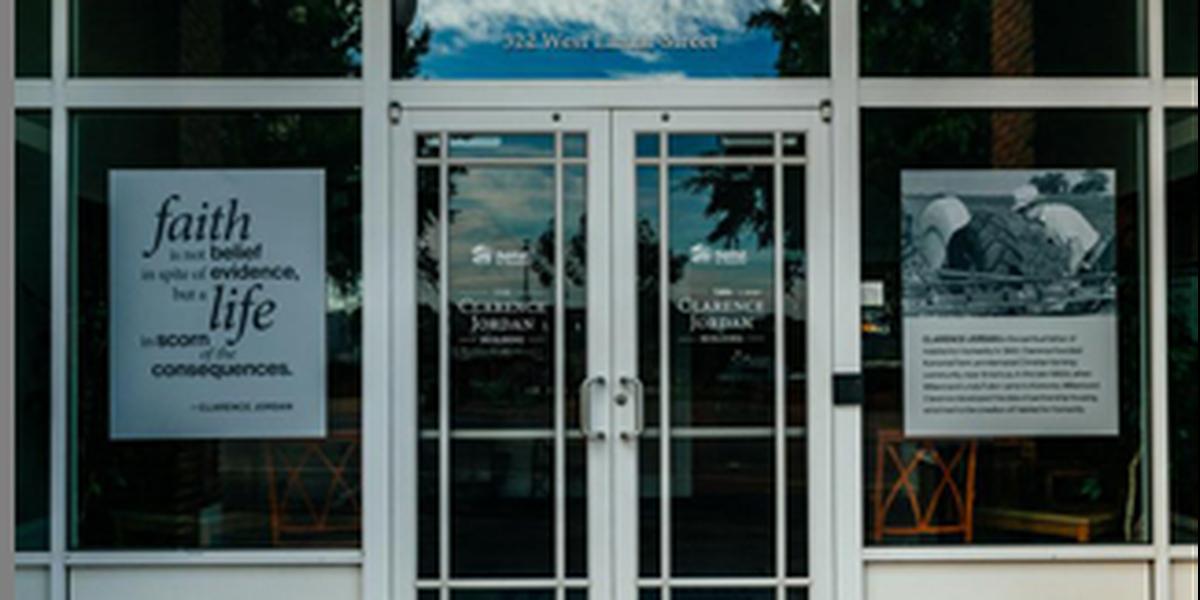 Habitat for Humanity in Americus dedicates headquarters building in honor of Clarence Jordan