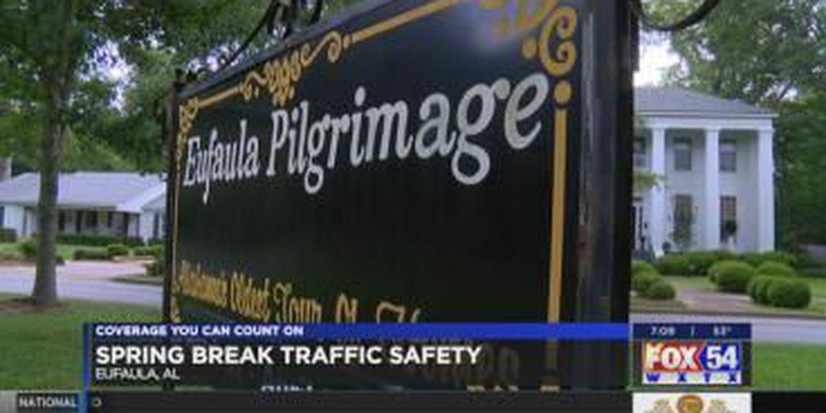 Eufaula police advising travelers on Spring Break traffic