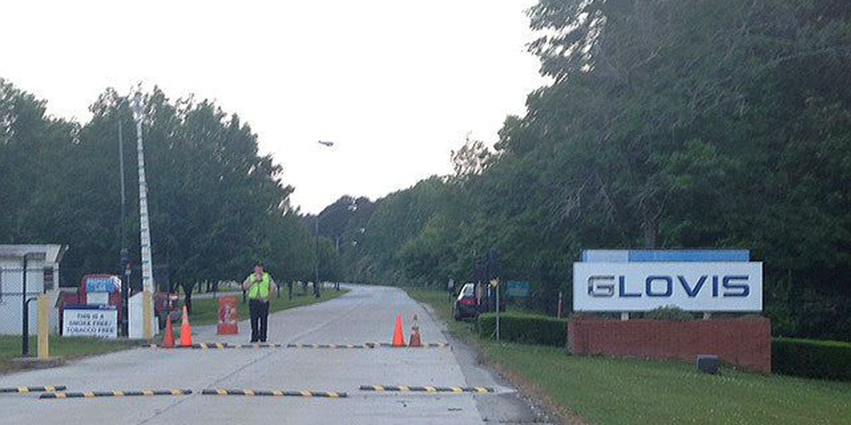 Police: husband stabs wife at Glovis plant
