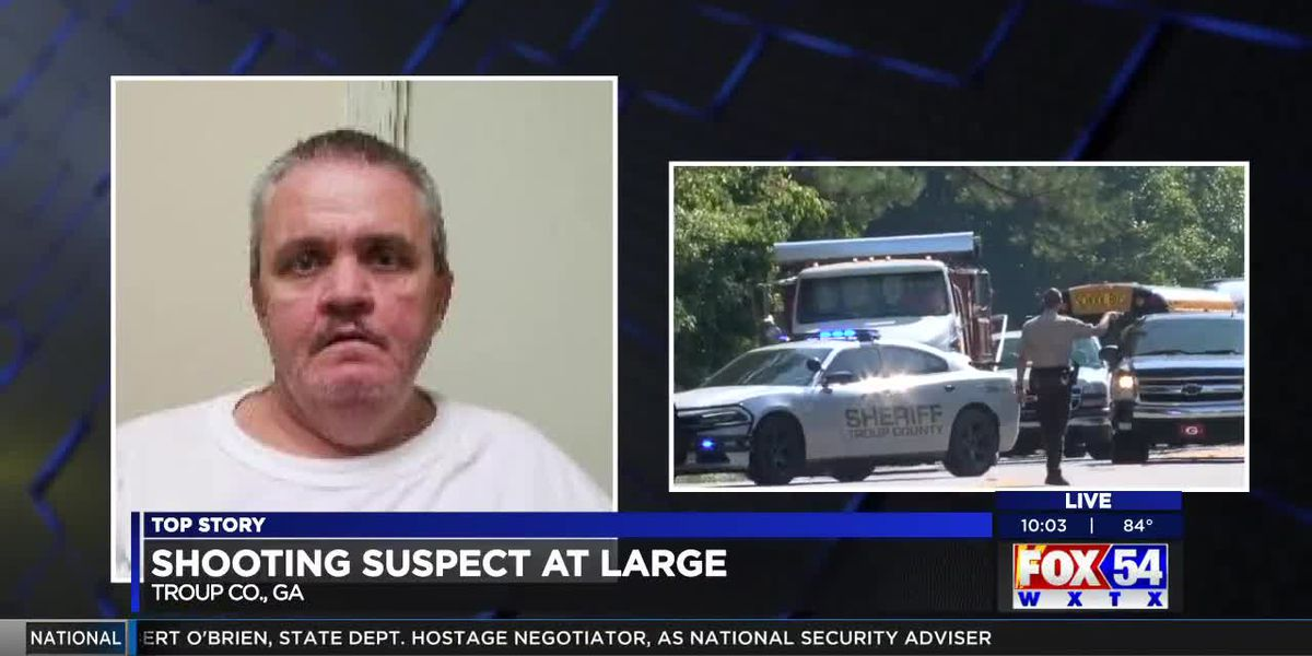 UPDATE: Suspect wanted for shooting in Troup Co. at large