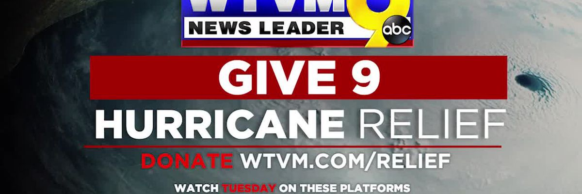 Give 9 Hurricane Laura Relief
