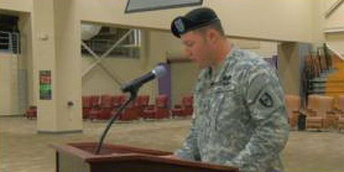 Change of command at Ft. Benning's combat hospital