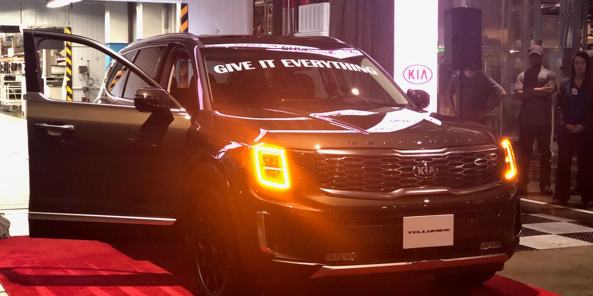 Kia plant in West Point unveils brand new SUV, celebrates economic boost in community
