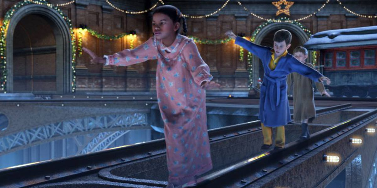 NIM has custom showing of The Polar Express for kids with special needs