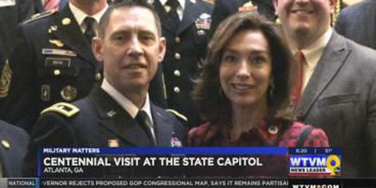 Military Matters: Fort Benning celebrates 100th birthday at state capitol