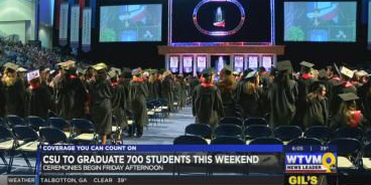 Nearly 700 students to graduate from CSU this weekend
