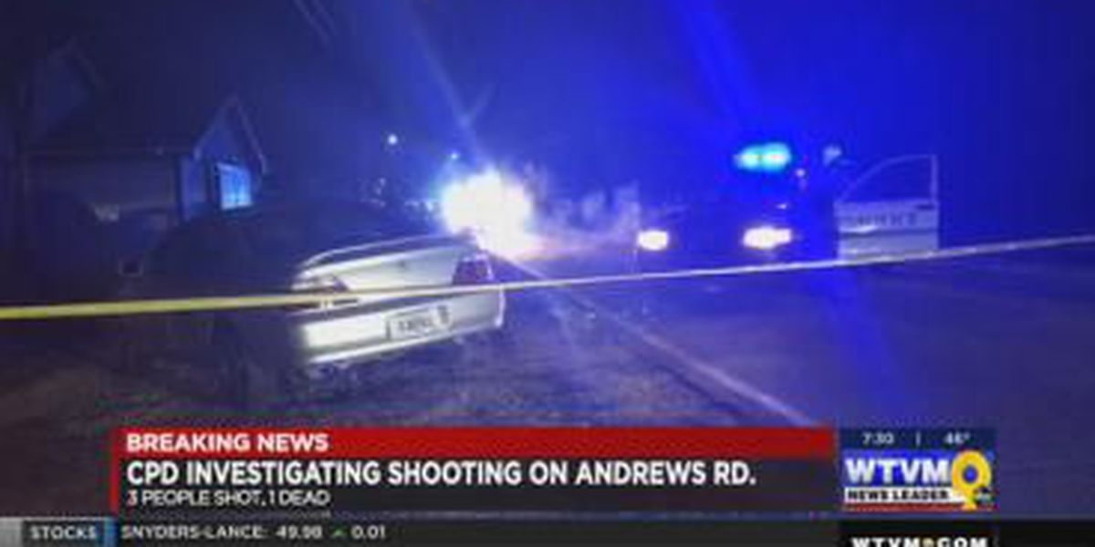 Andrews Rd. shooting leaves one person dead, two in hospital