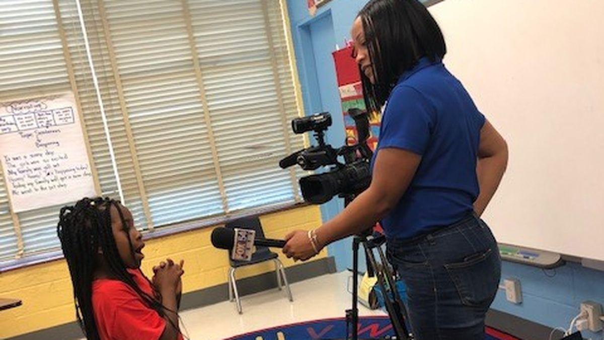 JR Davis Elementary hosts annual Career Day