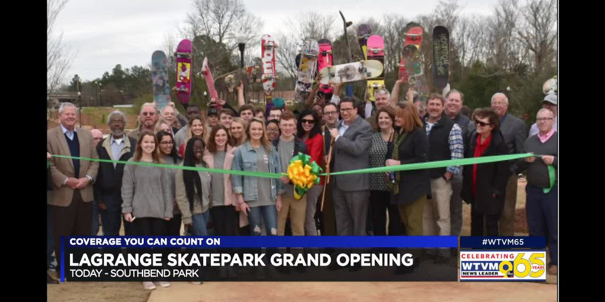 New skatepark opens in LaGrange