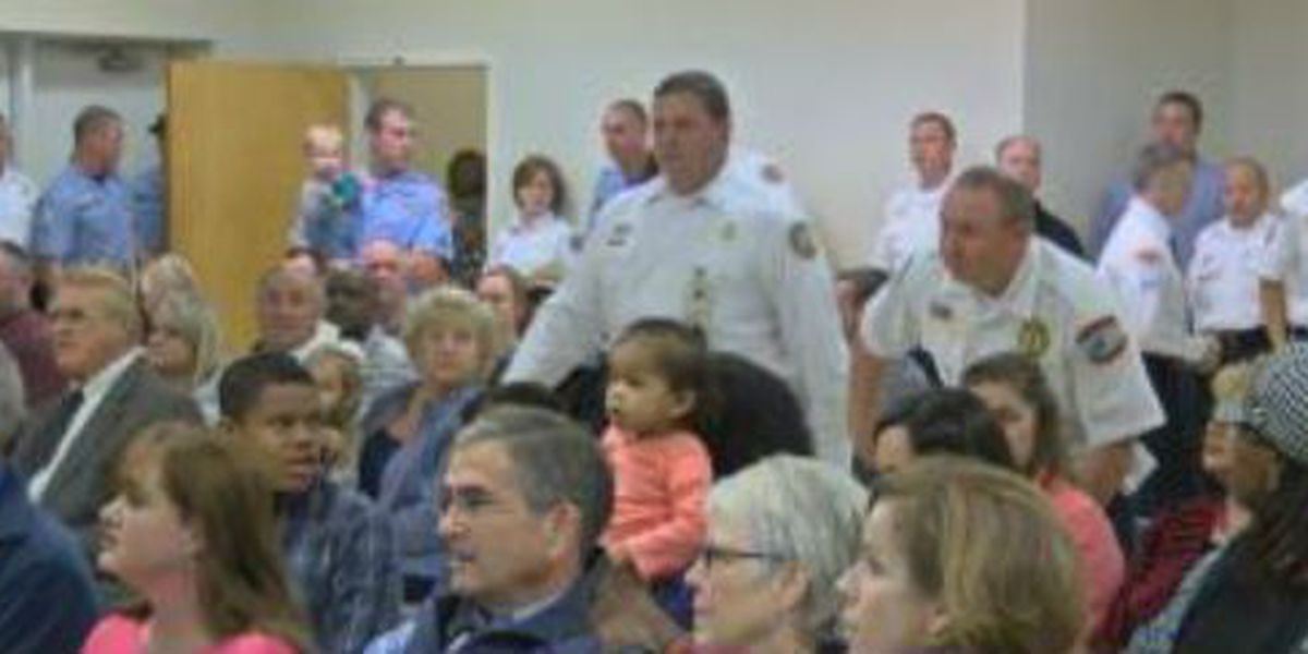 Columbus first responders honored at ceremony